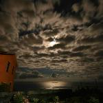 Full moon at NiRia B&B, Volastra, Italy