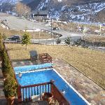 Vistas de la piscina desde la habitacion