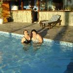 Piscina principal de Corsarios, tienen una piscina temperada de lo mejor