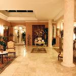 Recepción del hotel termas marinas El Palasiet