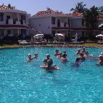 fun in the pool