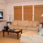 Living room in cottage