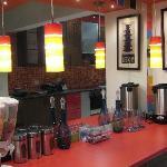Tea/Coffee Counter