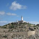 Lighthouse at end of cape