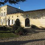 Front of Chateau de Mole