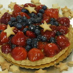 Customer's #1 choice-  Fresh Fruit Tarts!