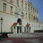 The front of the palace faces an enormous square where the changing of the guard takes place.