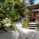 walk from Cabana to Seaside Beach bar
