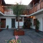 Gara Hotel courtyard