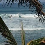playa al frente de casa isleña