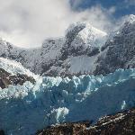 El avance del hielo en la montaña