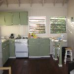 The cute kitchen