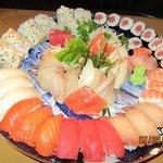 Sushi + Sashimi combo for 2