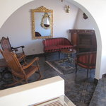 Livnig Room of top floor suite