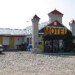 voici une photo de la vue du motel.