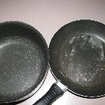 Only pan/pots in stocked kitchen