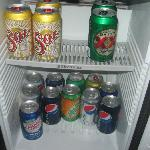 contents of mini fridge