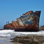 The Jacaranda shipwrecked in 1971