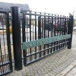 Entrance to national 1798 Visitor Centre