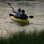 Unlimited use of 2 person kayak & canoe