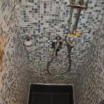 Recently renovated showers