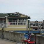 Coffee shop on the water