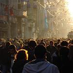 Busy Sunday in Galatasaray