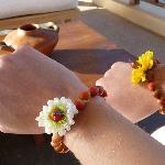 Welcome bracelets