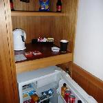The fridge area
