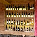 Présentoire à vin