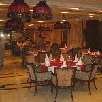 restaurante de hotel donde cenamos