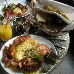 Breakfast at Siddhartha Cafe