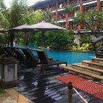 Lagoon Access swimming pool