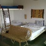 La Habitacion, una de las camas matrimoniales