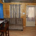 Cabin nine living room