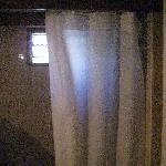 Rideau de douche très sale