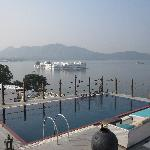 Rooftop Swimming Pool With Lake View