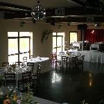 Sala da ballo allestita per matrimonio