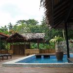 Longhouse and Dip Pool
