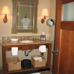 bathroom at Lodge