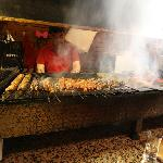 A good selection of kebabs