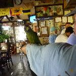Man with Parrot at Quiet Mon