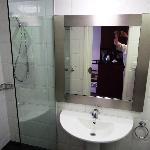 Bathroom, incl walk-in shower area