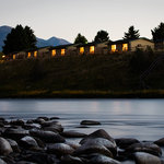 Fall asleep to the sound of the river and wake up to mountain views and world class fishing
