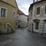 The winding streets of the medieval town of Weissenkirche are pretty wonderful.
