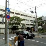 JR Ueno, Iriya exit, back of the taxi