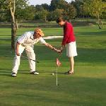 Golf 9 trous sur place