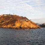 view of sinfonia del mar from the sea