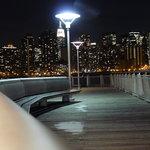 Blick vom Gantry Park auf Manhattan