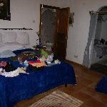 l'altra stanza matrimoniale di villa aranci (subito dopo aver svuotato le valige!)
